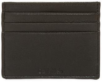 Calvin Klein Pebble Leather Card Case $40 thestylecure.com