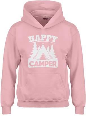 Camper Indica Plateau Kids Hoodie Happy Youth-Size Hoodie