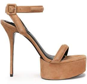 Alexander Wang Suede Platform Sandals