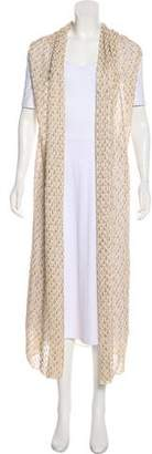 Missoni Sleeveless Open Front Cardigan w/ Tags