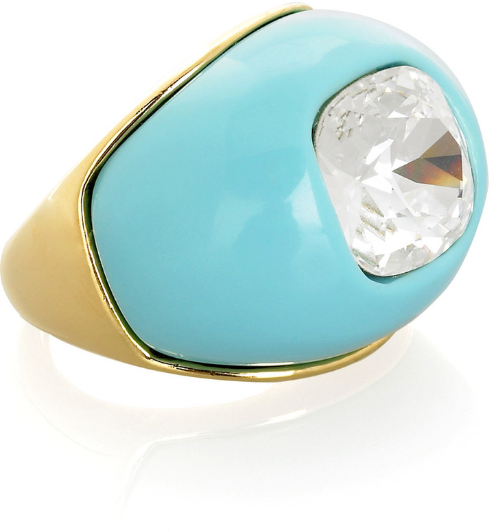 Kenneth Jay Lane Dome cocktail ring