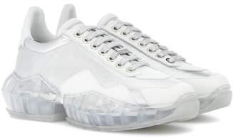 Jimmy Choo Diamond leather sneakers
