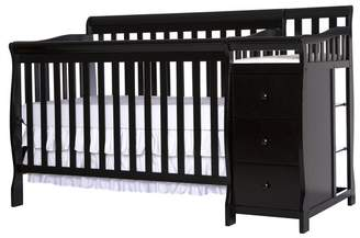 Dream On Me Brody 5-in-1 Convertible Crib and Changer Combo