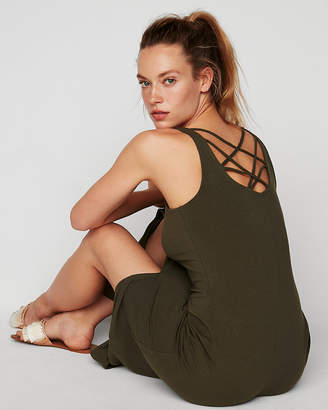 Express Strappy Back Maxi Dress