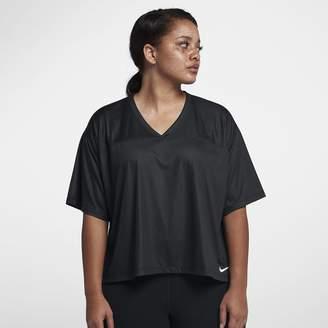 Nike Breathe (Plus Size) Women's Short Sleeve Training Top