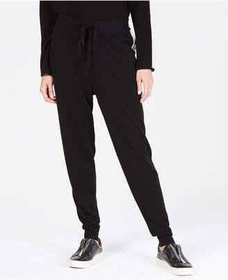 Charter Club Striped Pure Cashmere Jogger Pants