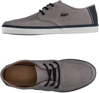 54e1442fe777cf Lacoste Grey Suede Shoes For Men - ShopStyle Australia