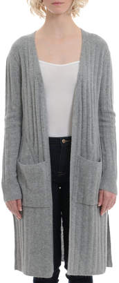 Minnie Rose Cashmere Ribbed Duster