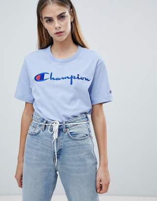 Champion oversized t-shirt with front logo