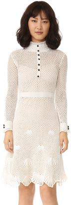 Derek Lam Embroidered Dress $2,495 thestylecure.com
