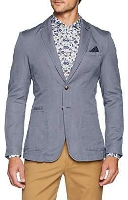 Benetton Men's Jacket Blazer,(Size: 48)