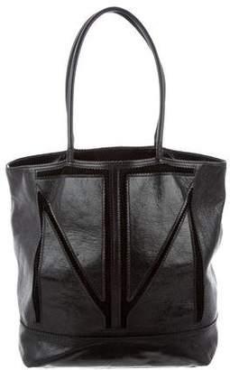 Tamara Mellon Leather & Suede Tote