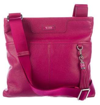 Tumi Medium Leather Adeline Crossbody Bag