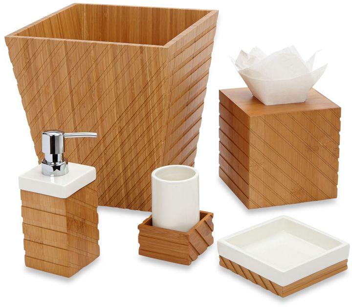 Bed Bath & Beyond Sutton Bamboo Bath Tissue Boutique