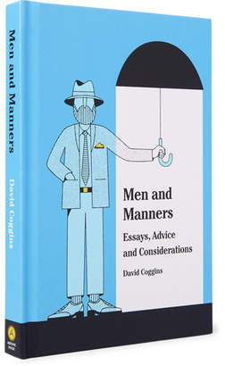 Abrams Men And Manners: Essays, Advice And Considerations Hardcover Book