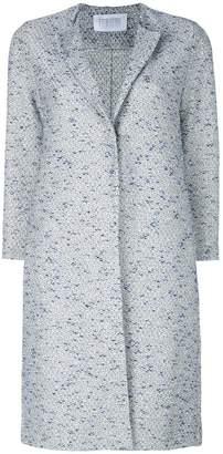 Harris Wharf London cropped sleeve coat