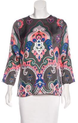 See by Chloe Silk Printed Blouse