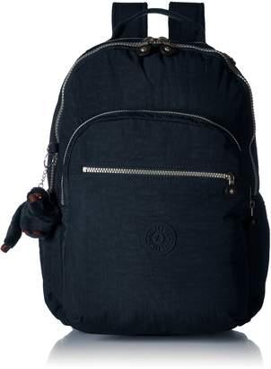 Kipling Seoul L Solid Laptop Backpack, Very Berry