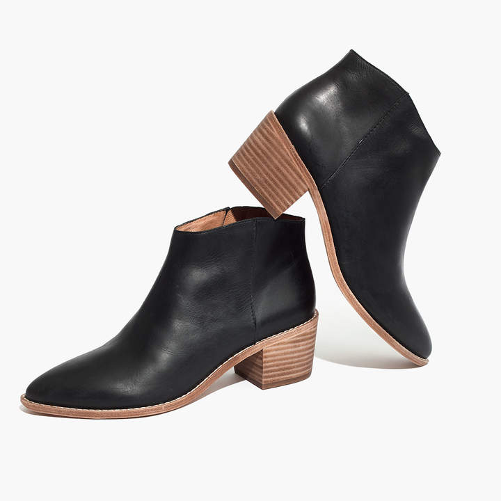 The Justine Boot in True Black