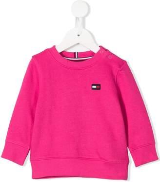 Tommy Hilfiger Junior logo long-sleeve sweatshirt