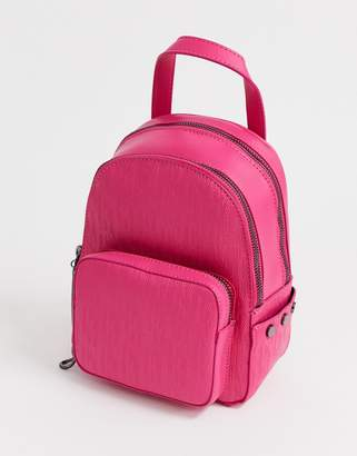 Juicy Couture Juicy aspen mini zippy backpack in hot pink