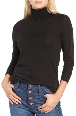 Women's J.crew Featherweight Cashmere Turtleneck $228 thestylecure.com