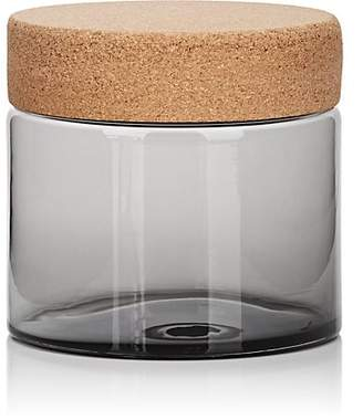 Gary Bodker Designs Button Wide Canister - Gray
