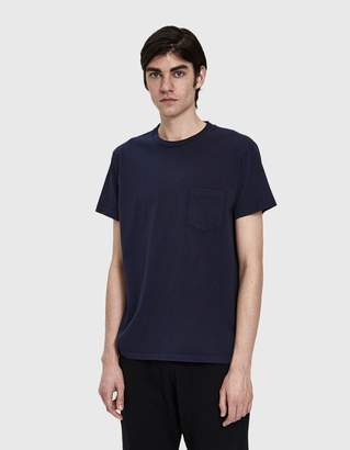 Velva Sheen 2 Pack S/S Pocket Tee in Navy