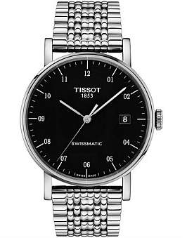 Tissot Everytime/Gr/A/Steel/Black Dial Arab. Nb