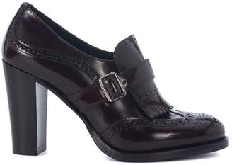 Church's Sibylle Ebony Leather Heeled Loafer