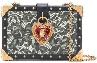 Dolce & Gabbana lace box shoulder bag