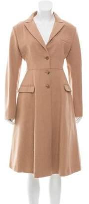 Miu Miu Wool & Camel-Blend Coat