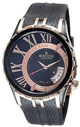 Edox Men's 82007 357RN NIR Automatic Date Grand Ocean Watch