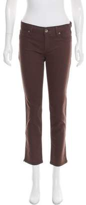 DL1961 Mid-Rise Straight-Leg Jeans w/ Tags