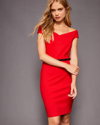 Ted Baker BRYNIA Off-shoulder bodycon dress