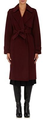 Theory Women's Oaklane Wool-Cashmere Coat-RED $795 thestylecure.com