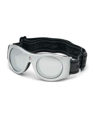 Moncler Men's White Lens Active Sunglasses
