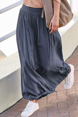 Next Womens Indigo Maxi Skirt - Blue