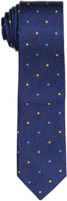 Isaac Mizrahi Dotted Silk Tie