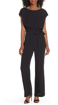 72480dc7716 Eliza J Cap Sleeve Wide Leg Jumpsuit