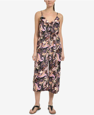 NY Collection Ruffled Wide-Leg Jumpsuit