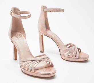 Vince Camuto Ankle Strap Heeled Sandals- Beresta