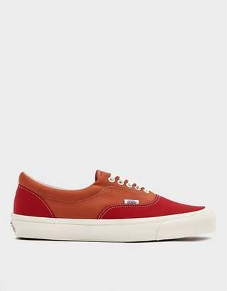Vans Vault By OG Era LX Sneaker in Racing Red/Apricot Orange