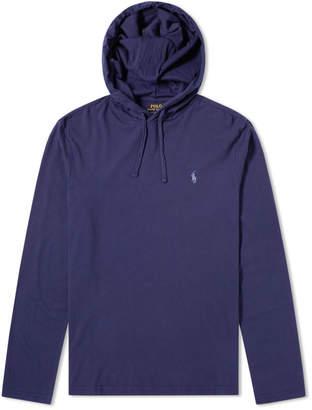 Polo Ralph Lauren Long Sleeve Hooded Jersey Tee