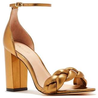 Rachel Zoe Ashton City Leather Block Heel Sandal
