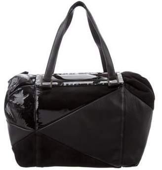 Fendi Leather Frame Bag Black Leather Frame Bag