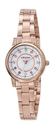 Croton [クロトン 日本製3針クォーツ レディース腕時計 RT-170L-B