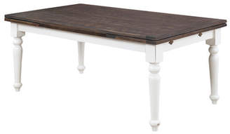 Beachcrest Home Mulcahy Traditional Extendable Dining Table