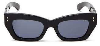 Pared Eyewear Women's Petite Amour Slim Rectangular Sunglasses, 50mm