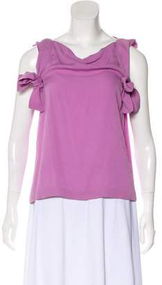 3.1 Phillip Lim Silk Sleeveless Top
